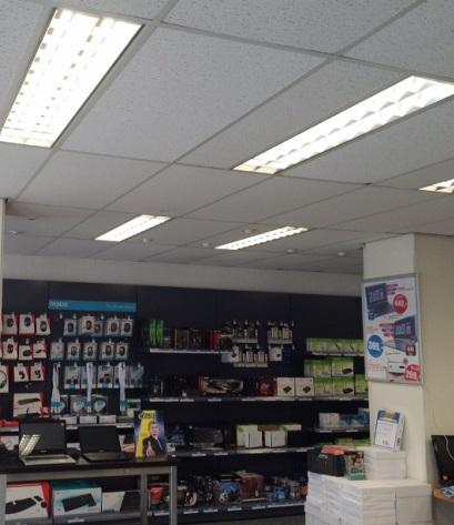 Forcys winkel voorzien van LED TL