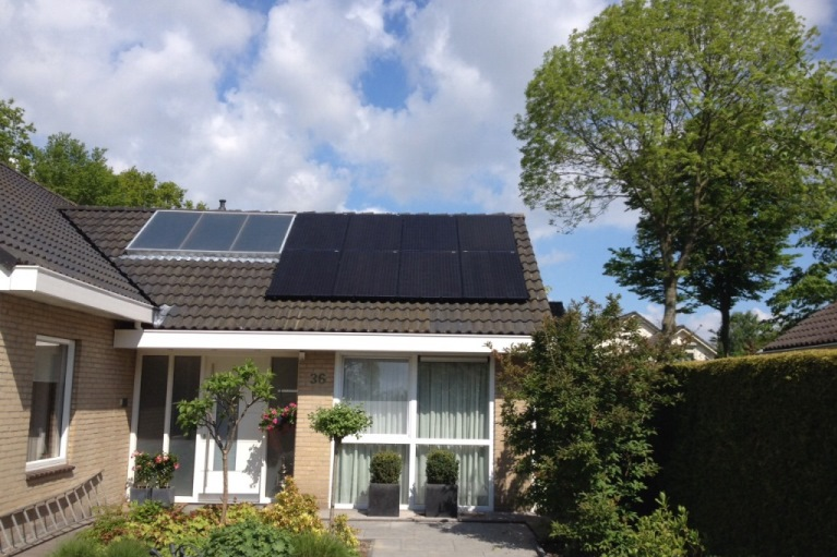 zonnepanelen wilting