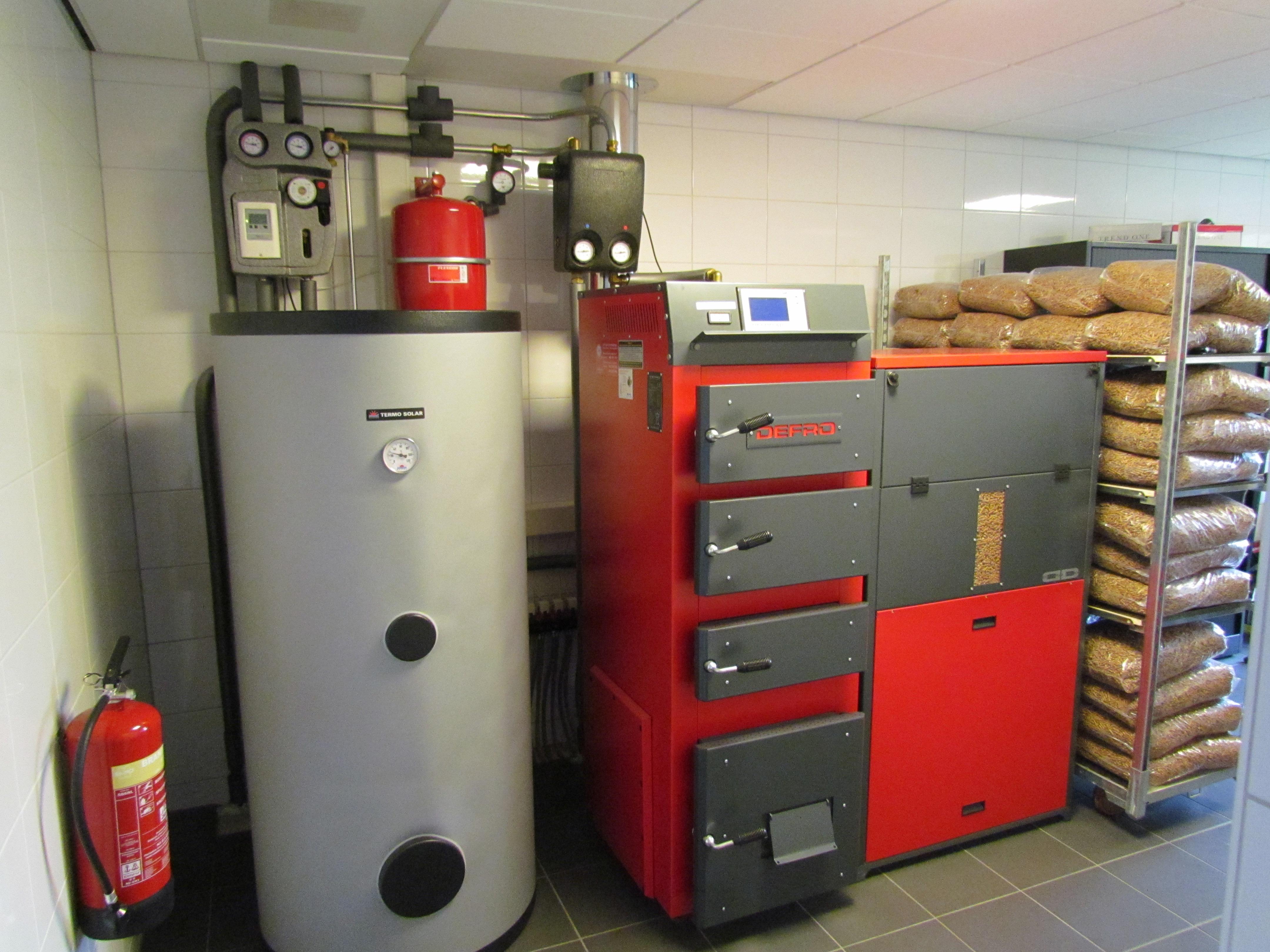 Energy saving solutions hoofdkantoor streeft naar nul op for Foto pellet